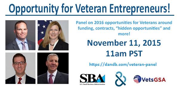 Veteran Opportunities Panel